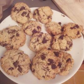 Cookies sans lactose