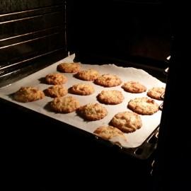 Congolais style biscuits (douzaine) (rapide) (et plutôt délicieux)